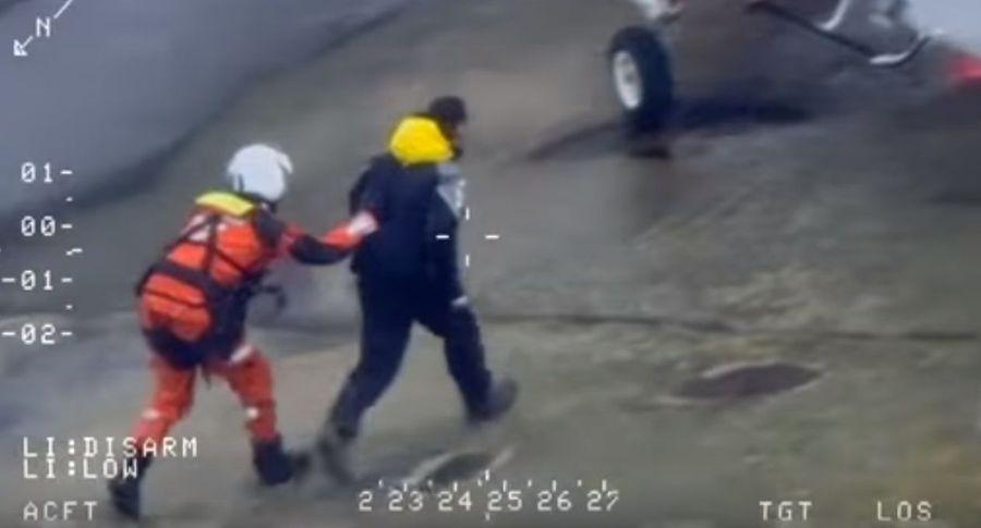 ВШвеции спасли жителя России, который самостоятельно попытался доплыть доИспании