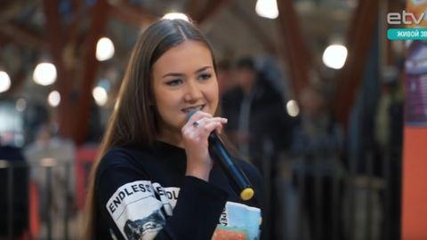 Путевку в финал музыкального шоу «BRAVO!» выиграла 16-летняя таллиннка Наталья Заугарова