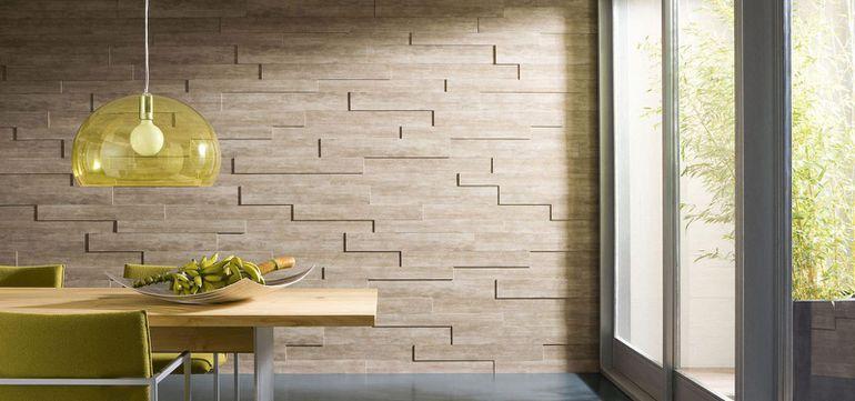 Панели вместо обоев на стену