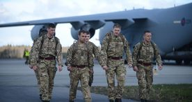 Nearly 130 British troops to arrive in Estonia on Friday