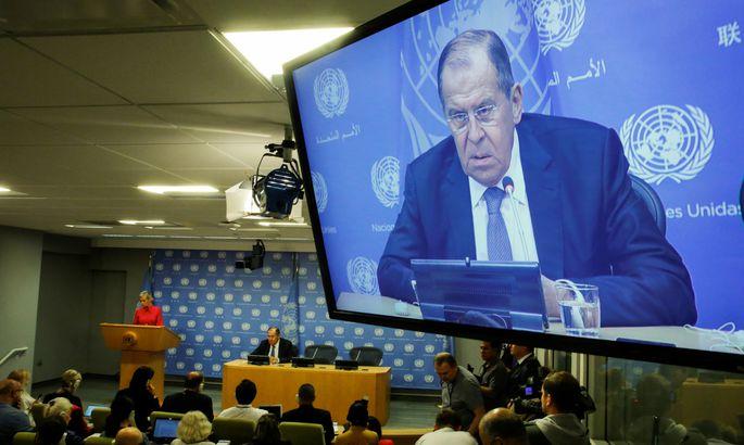 ВСША неспешат выполнять соглашения В.Путина иТрампа, объявил Лавров
