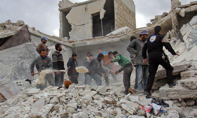 Специалисты похимическому орудию проведут эксгумацию тел жертв атаки всирийской Думе