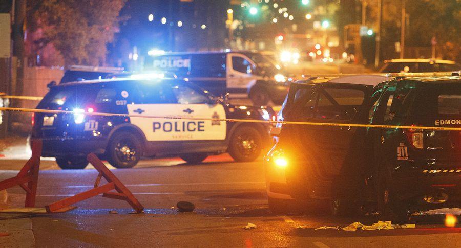ВЭдмонтоне террорист въехал втолпу пешеходов иранил полицейского