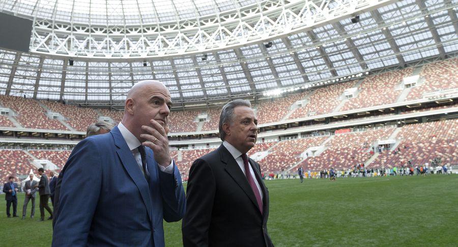 Будем отменять матчи чемпионата мира из-за проявлений расизма— руководитель ФИФА