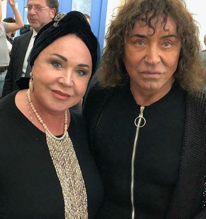 Надежда Бабкина и Валерий Леонтьев