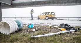No one injured as over 30 vehicles get into accidents on Tallinn Ring Road