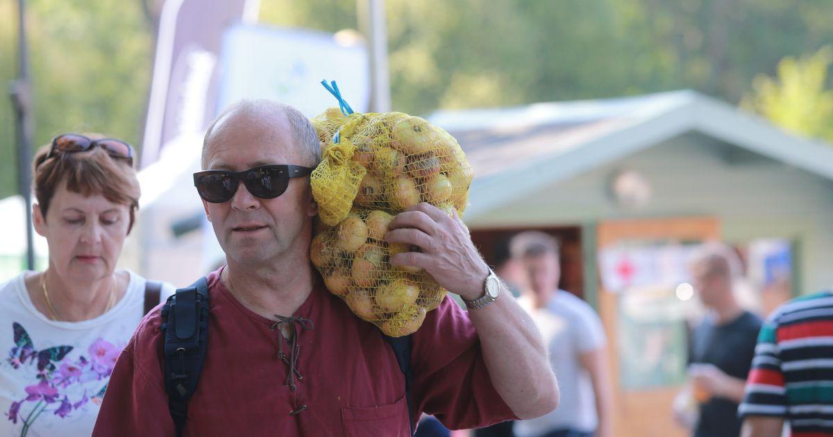 Pildid: Küüslaugufestival tõi Kuremaa ranna ja pargi rahvast täis