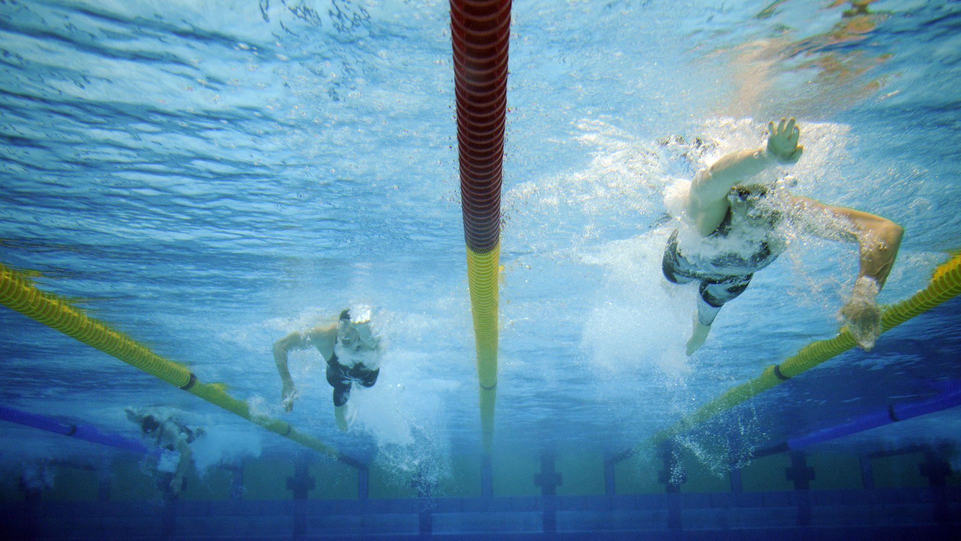 Ujumisklubi avab end väikelastele