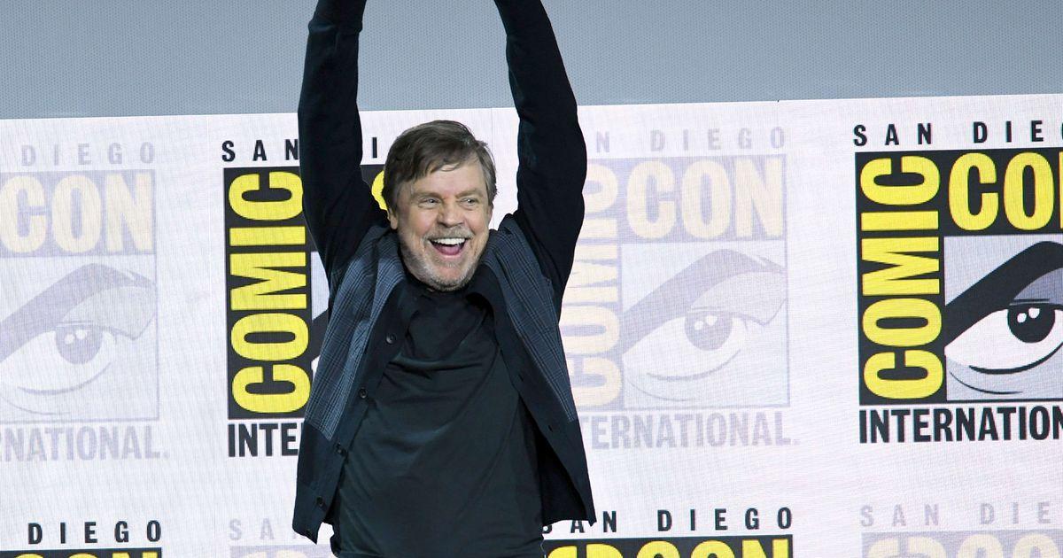 «Tähesõdadest» tuntud näitleja Mark Hamill võitis Comic-Conil elutööpreemia
