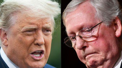 Trump soovitas vabariiklastel McConnell üle parda heita