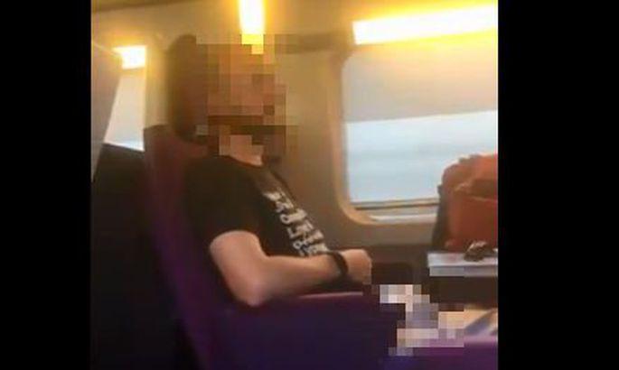 8db29ecc7ad Prantslanna jäädvustas rongis teda ahistanud mehe, kuid ta võib saada  karmimalt karistada kui see mees