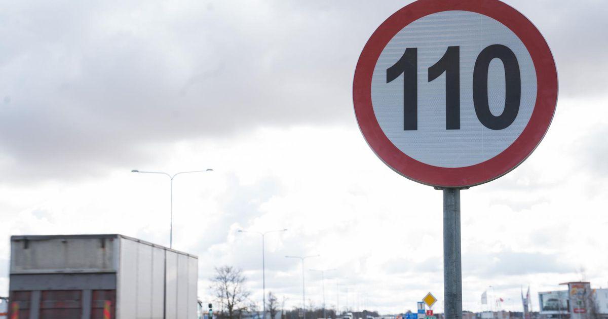 Maanteeamet alustab täna piirkiiruse tõstmisega