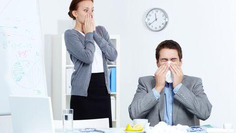 Piisknakkused levivad töökohal välkkiirelt.