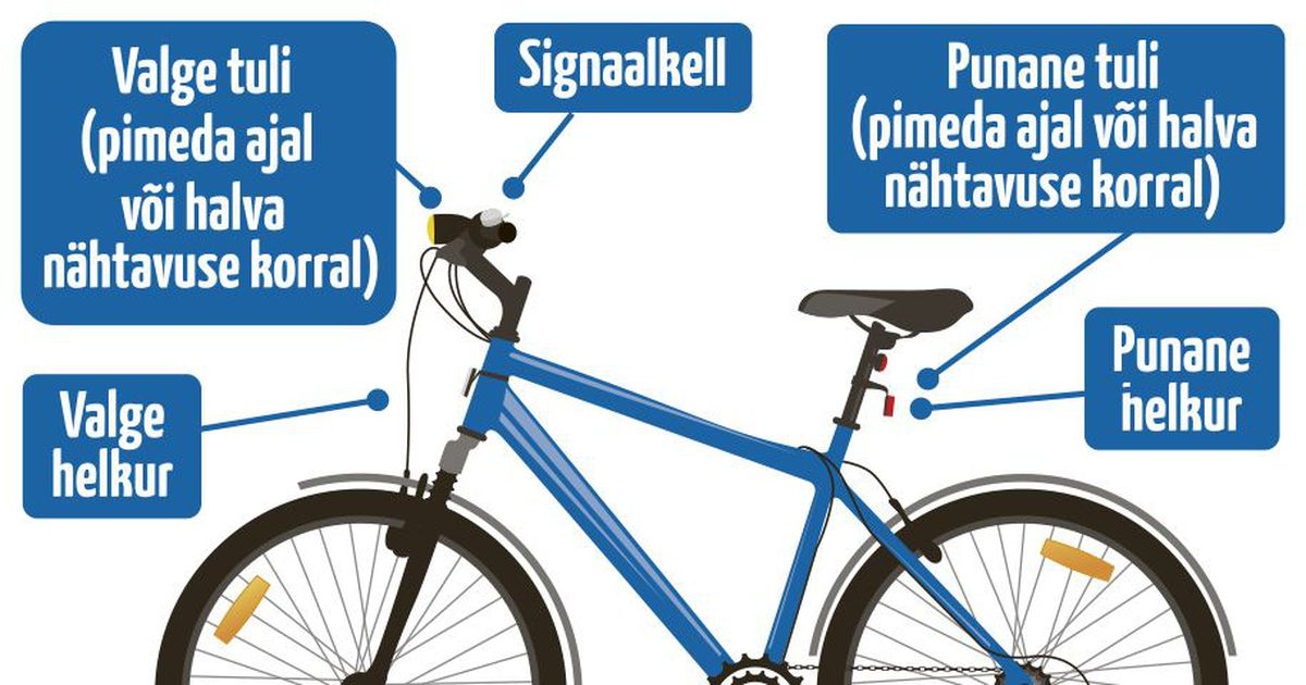 Kellad-viled-pakiraamid: Mis lisavarustus peab su rattal olema ja mis on lihtsalt iluasjad?