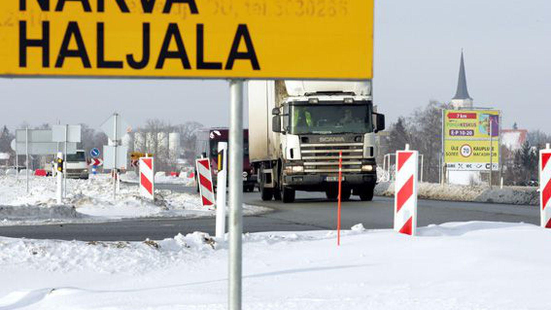 Haljala liiklussõlm paneb maa teenima