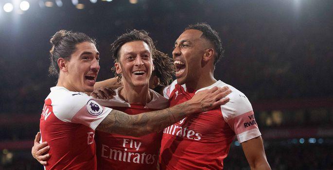 1fdca1dd716 Arsenali jalgpallurid Hector Bellerin, Mesut Özil ja Pierre-Emerick  Aubameyang. | FOTO: Mark Pain / PA Images Contributor/Press Association  Images