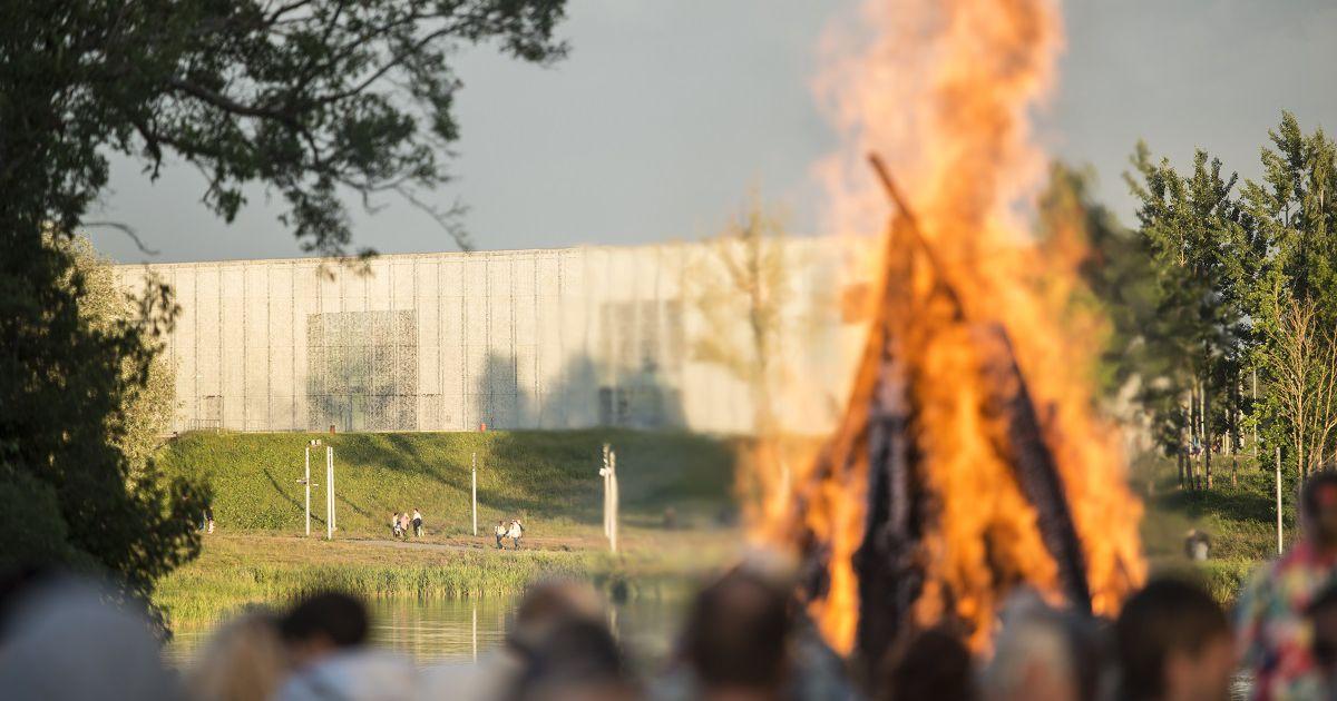 Raadi järve kaldal süttib Tartu linna jaanituli