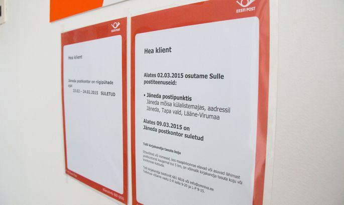 30f2021783c Postiettevõte Omniva sulgeb Jäneda postkontori 9. märtsist.