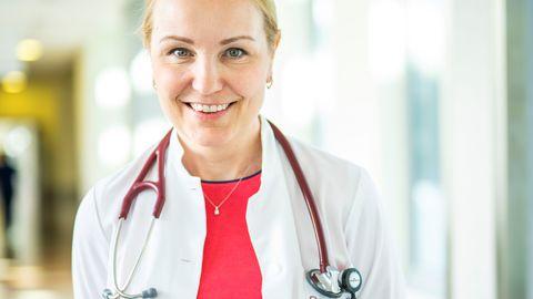 Põhja-Eesti Regionaalhaigla kardioloogia osakonna ülemarst dr Riina Vettus.