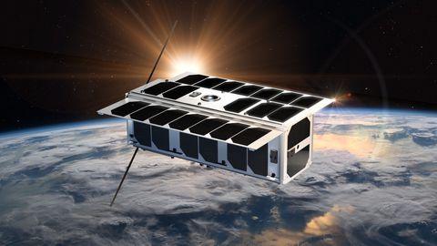 Kui Estcube 2 kosmoses tiibu sirutab, peaks satelliit välja nägema selline.