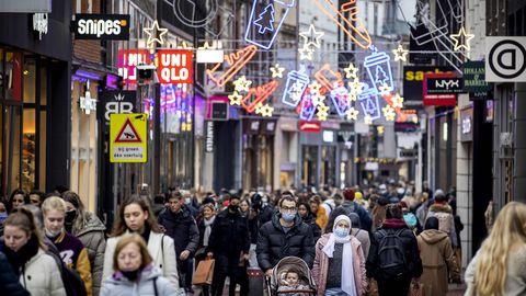 Amsterdami tänavapilt 27. novembril 2020