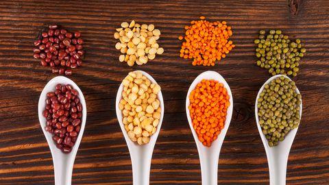 Läätsed ja oad on head taimsed valguallikad.