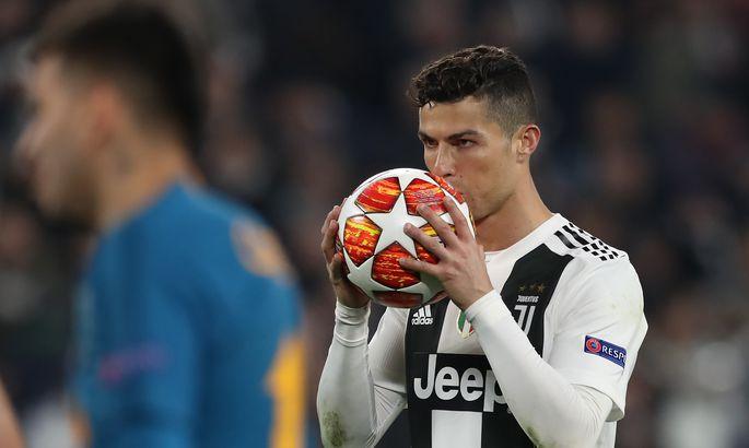 9cdea46abf7 Cristiano Ronaldo vedas kübaratriki toel Torino Juventuse Meistrite liiga  veerandfinaali. Fortuuna tulemusel kohtub Juventus kaheksa parema hulgas ...
