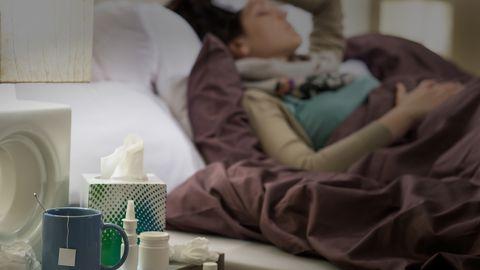 Liikumispiirangud vähendasid gripi levikut.