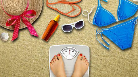 5 trikki, mis aitavad sul suvel kiusatustest hoolimata kaalu langetada.
