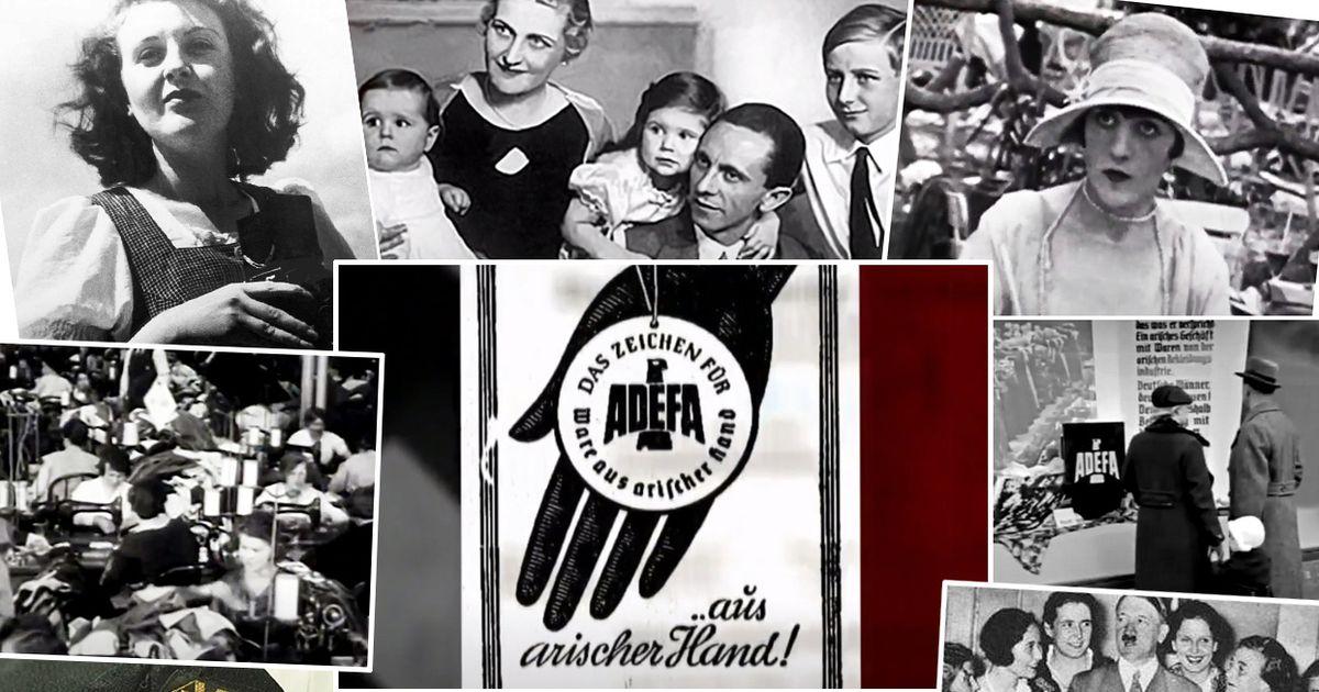 Nacistu apģērba zīmols `Adefa`. Nost ar franču cakām,...