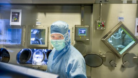 Radioaktiivse ravimi valmistamine nõuab ülimat valvsust.