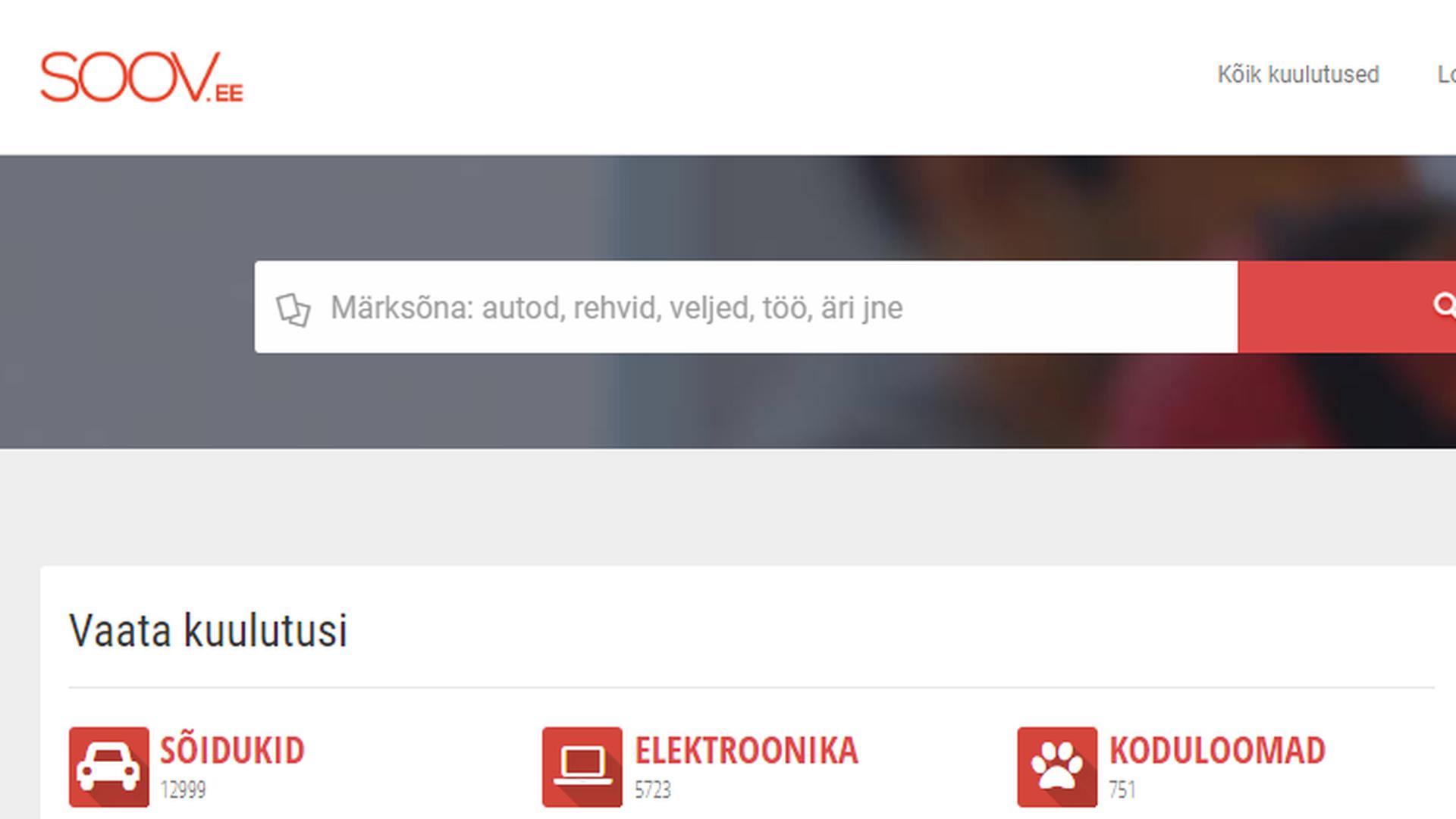 UP Invest sai loa Soov.ee tagasi osta: