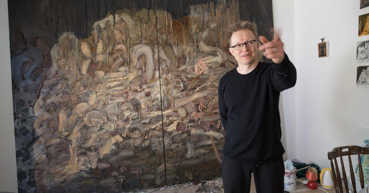 Soome kunstniku maaliseeria Viljandist ootab vaatajaid