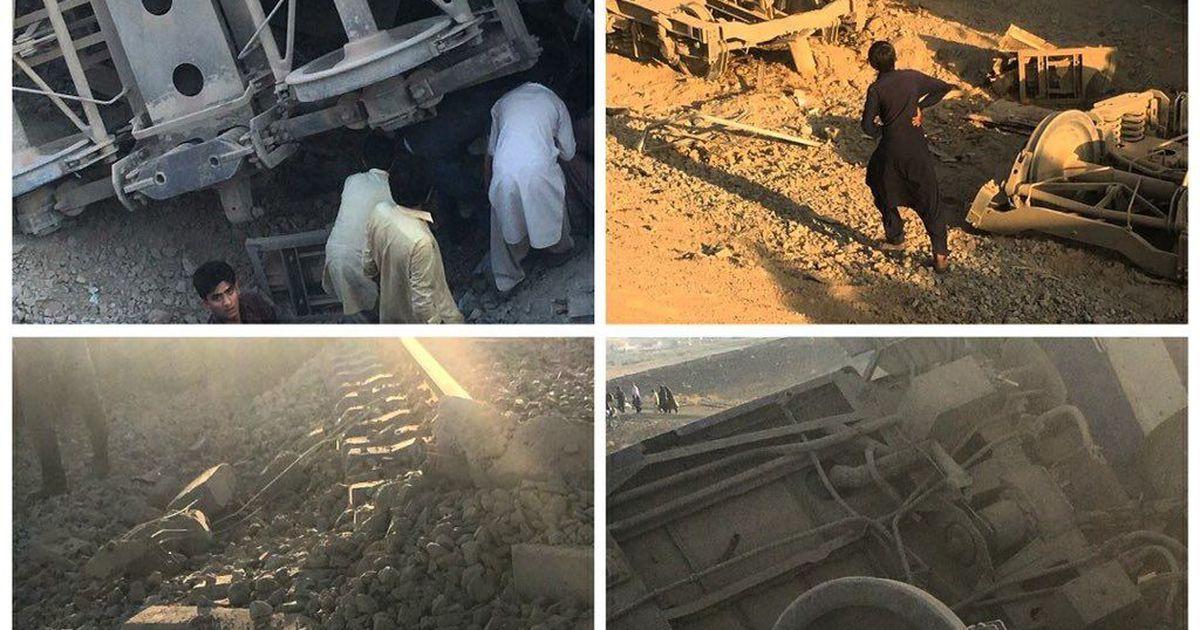 Iraanis sai rongiõnnetuses surma neli ja viga 35 inimest