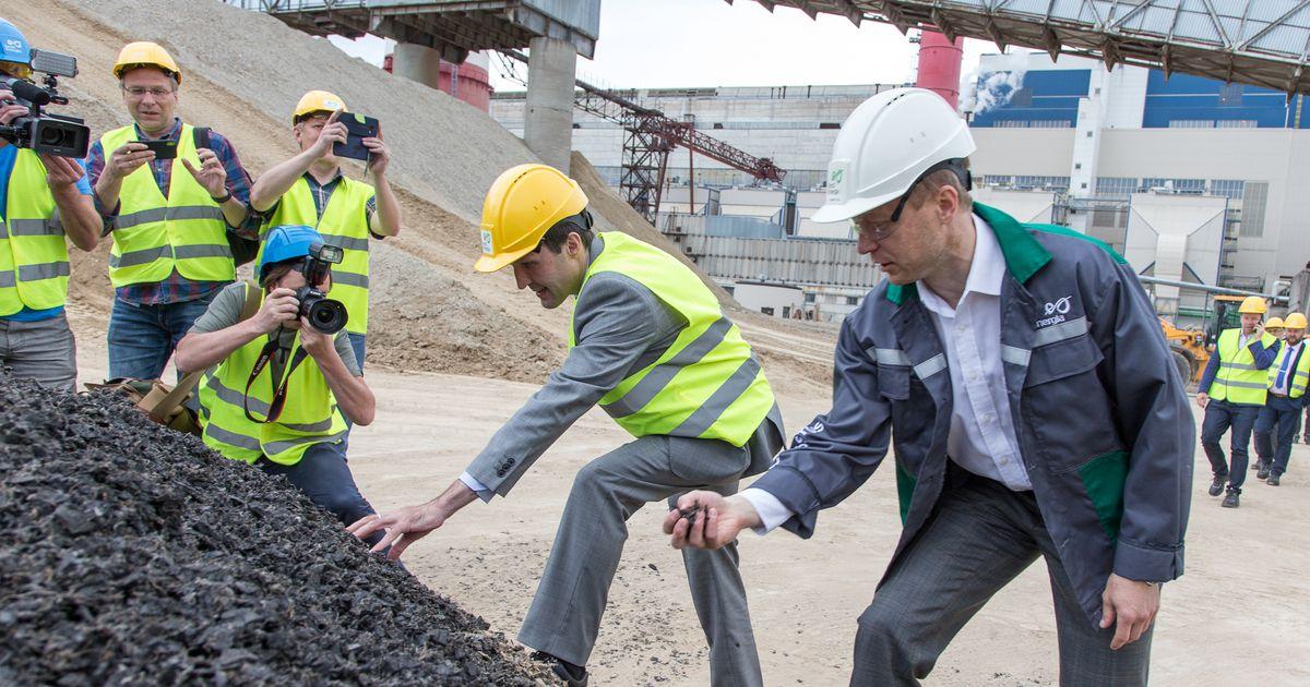 VIDEO Eesti Energia hakkas õlitootmisel kasutama vanu rehve