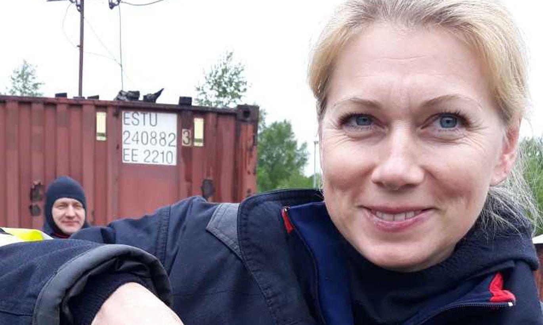 Pildid:  Kristina Šmigun-Vähi käis Päästeliidus vabatahtlikuks ja sai oma kiivri