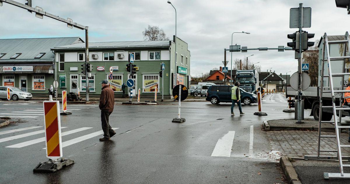Tallinna maantee ristmiku liikluskorraldus muutub taas