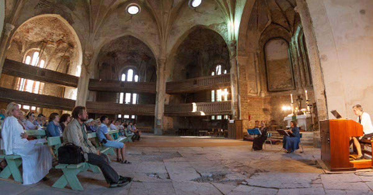 Narva Aleksandri kiriku kuppelsaal on arvatust halvemas seisukorras