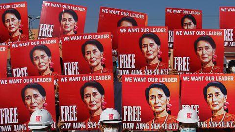 Advokaat: Suu Kyi astub sel nädalal kohtu ette