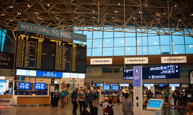 Финляндия начнет проверять туристов в аэропорту и морских портах на коронавирус