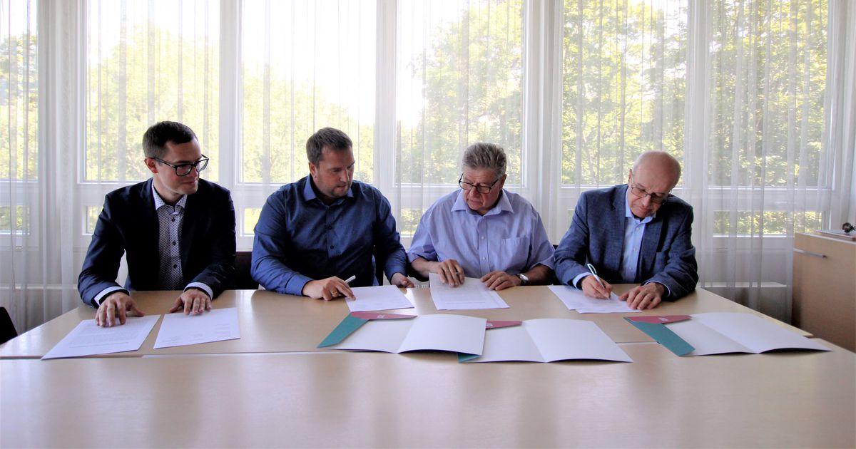 Metsafirma asus toetama maaülikooli teadusprojekti