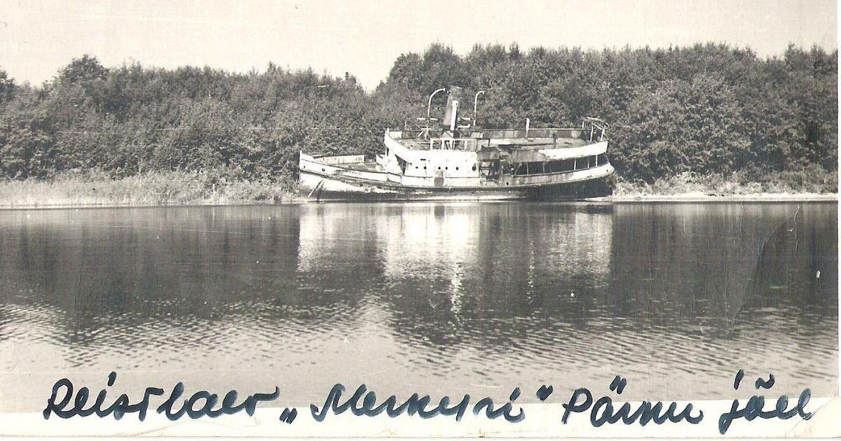 Selgusid uued üksikasjad Pärnu jõest välja tõmmatud laevavraki kohta