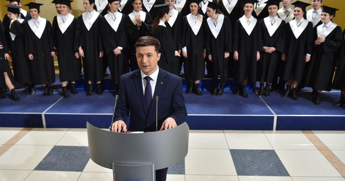 Vene telekanal hakkab näitama Zelenskõi komöödiasarja
