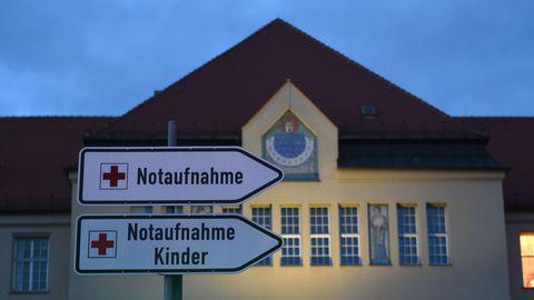 Saksamaa Müncheni Schwabingi haigla, kus on esimene Saksamaal koronaviiruse nakkuse saanu