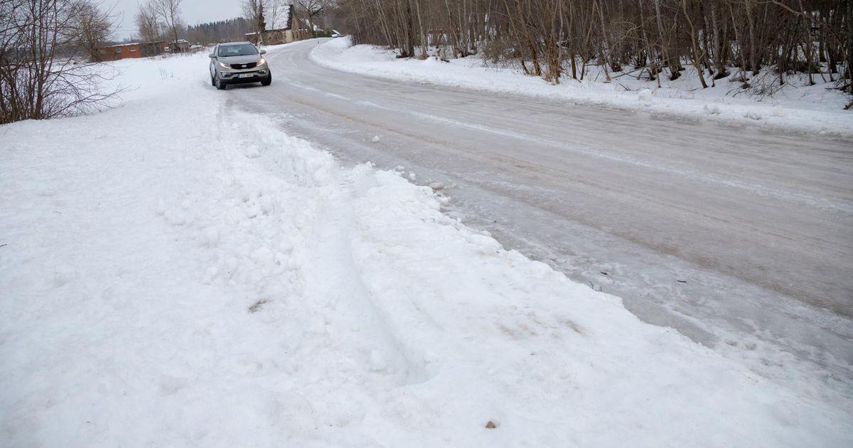 Libeda tee tõttu jäi bussidel mõni peatus vahele