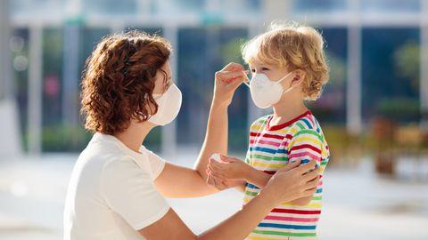 Maskid võivad väikelastele ohtlikud olla.