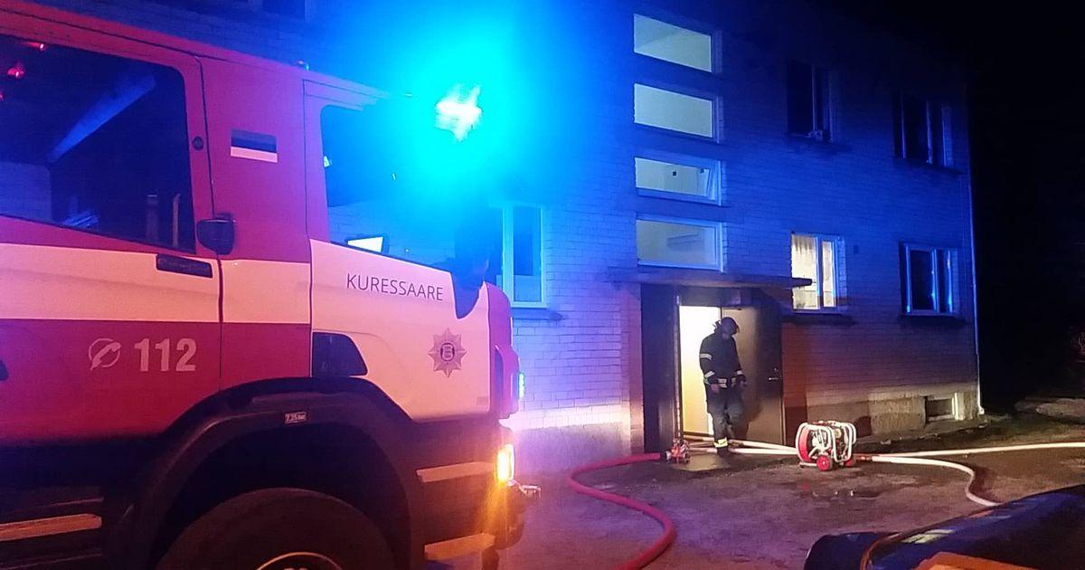 Läätsal hukkus korteri põlengus inimene