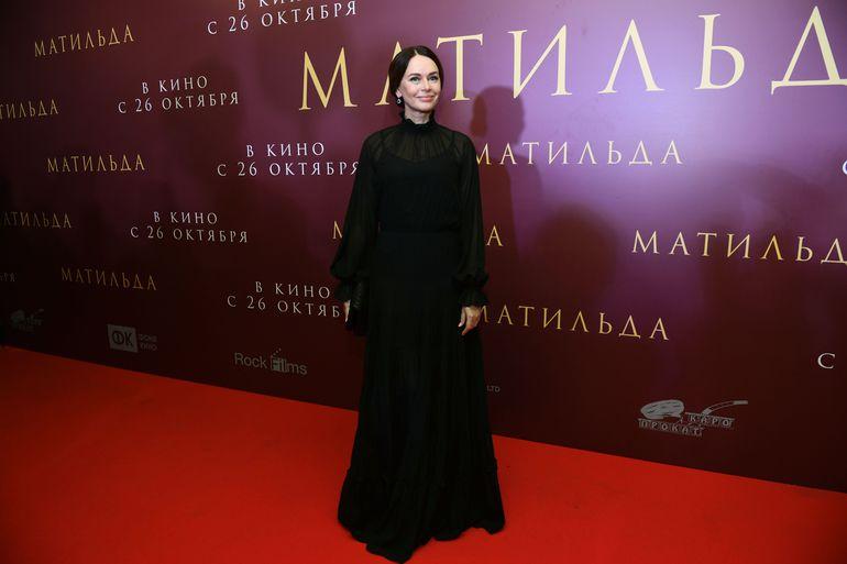 Ирина Безрукова, Мария Кожевникова и остальные звезды намосковской премьере фильма «Матильда»