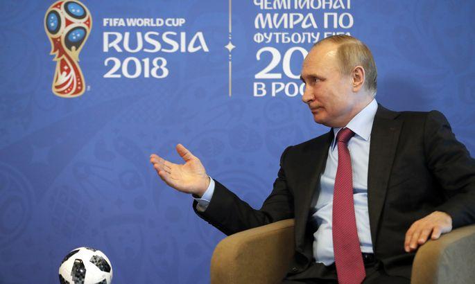 373afaf2a06 Putin avaldas, kes võidab jalgpalli MMi - Uudised - MM 2018 ...