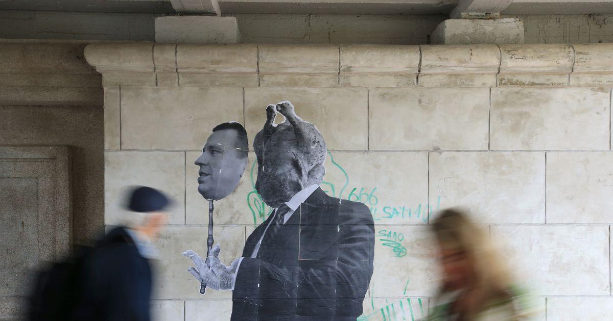 Fotouudis: Jüri Ratasest ilmus Tartu silla alla tänavakunstiteos